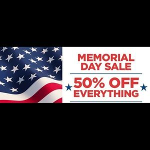Other - 50% off! Memorial Day Weekend Sale🇺🇸🇺🇸🇺🇸
